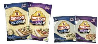 PIZZA BASE 9 INCH THIN X 48  MISSION CTN