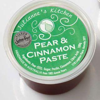 Juliannes Pear And Cinnamon Paste 150Gm
