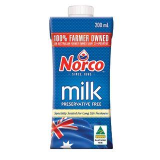 Norco Full Cream Milk Uht 200Mlx24
