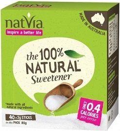 Natvia Sweetener Sticks 500 X 2G