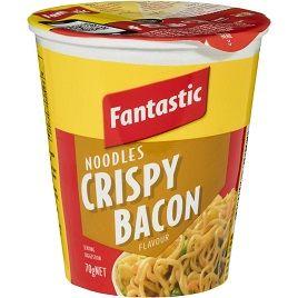 Noodles Instant Bacon 70Gmx12 Fantastic