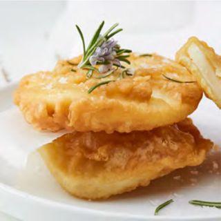 Potato Scallop Large Natural Slice 7.5Kg (100) Moka Foods