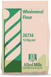 WHOLEMEAL FLOUR 12.5KG ALLIED MILLS