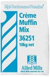 Muffin Mix Creme 10Kg Allied Mills