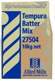 Tempura Batter Mix 10Kg Allied Mills