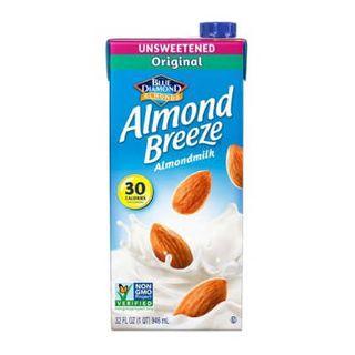 Almond Breeze Unsweetened Mild Almond Milk 1Lt