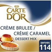 Creme Brulee/Creme Caramel Mix 1.25Kg Cart Dor