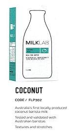 Milk Lab Coconut Milk (8X1Lt)  Ctn