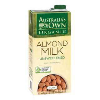 Almond Milk Organic Aust Own 1Lt
