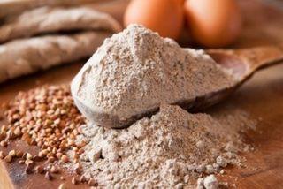 Flour Buckwheat Organic 1Kg Qfs