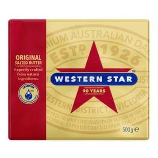 BUTTER SALTED 500GM WESTERN STAR