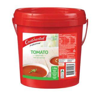 TOMATO SOUP POWDER GF 2KG CONTINENTAL