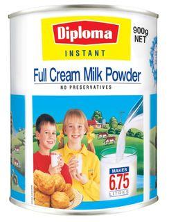 MILK POWDER DIPLOMA FULL CREAM 900GM