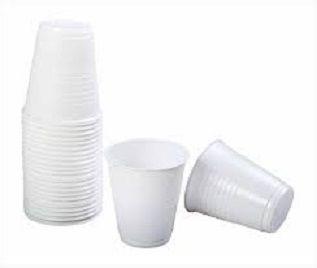 CUP PLASTIC WHITE CAPRI 200ML 50S