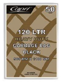 GARBAGE BAG HEAVY DUTY 120LT X 50 CAPRI