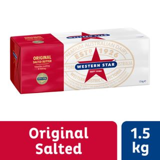 BUTTER SALTED WESTERN STAR 1.5KG