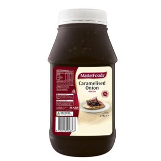 Relish Caramelised Onion 2.75Kg Masterfoods