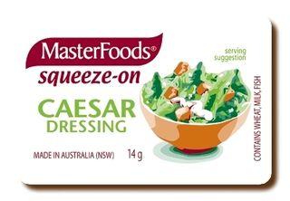 M/F Squeeze Caesar Dressing P/C 14Gx100
