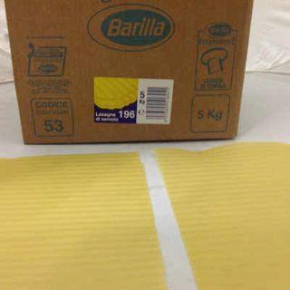 Barilla Lasagne Sheets 5Kg