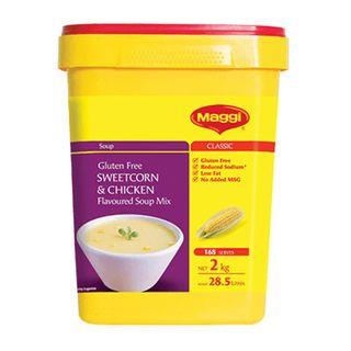Maggi Chicken Sweet Corn Soup Gluten Free 2Kg