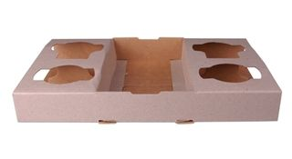 4 CUP CARDBOARD CUP TRAY 100S