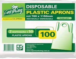 Apron Plastic Tear-Off 100S