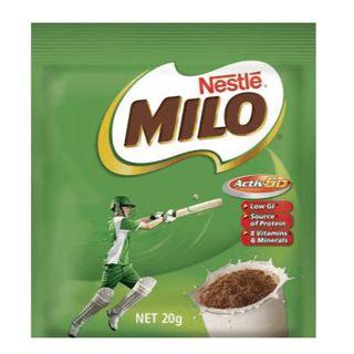 Milo Single Serve Sachet 100 X 20G