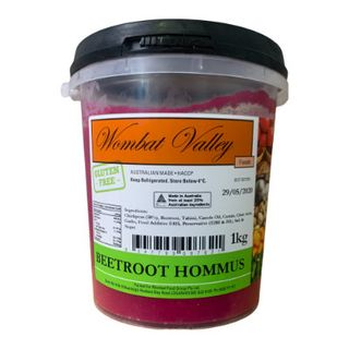 BEETROOT HOMMUS 1LT WOMBAT VALLEY