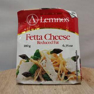 FETA REDUCED FAT 12X180G LEMNOS