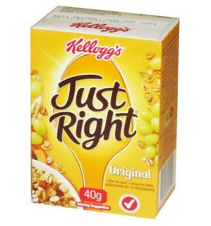 CEREAL P/C JUST RIGHT 30 X 40G