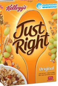 CEREAL JUST RIGHT 460G