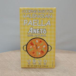 Aneto Valencian Paella Stock 1Lt