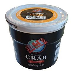 CRAB MEAT CLAW BLUESWIMMER 454G A&T