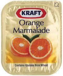 Marmalade Jam Portion Control 14Gx75 Kraft