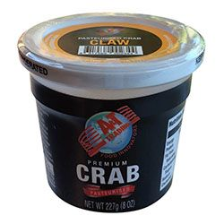 Blueswimmer Crab Meat Claw 227Gm A&T