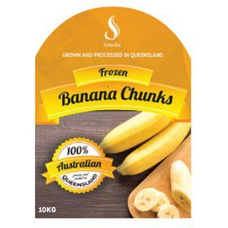 Banana Chunks Frozen 10K Local Queensland