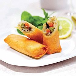 Spring Roll Mini Vege 50Gx24 A&T