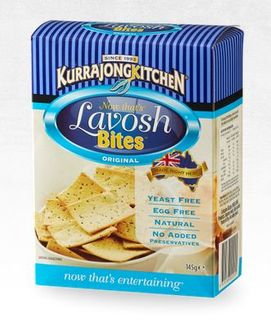 CRACKERS LAVOSH BITES ORGINAL 10 X 145G