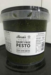 PESTO DAIRY FREE 2KG TUB ROZA