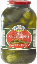 Dill Cucumbers Globus Polish 1.95Kg