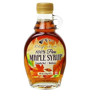 Maple Pure Syrup 100% 189Ml Chefs Choice