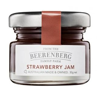 JAM P/C STRAWBERRY 30GX120 GLASS JAR BEERENBERG