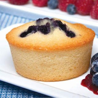GLUTEN FREE BLUEBERRY FRIANDS tray of 12 - Priestleys Gourmet Delights