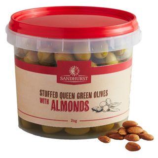 @ Olive Stuffed W Almonds 2Kg Sandhurst
