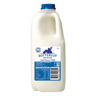 Milk Fresh Full Cream 2Ltx6 Ctn Buttercup