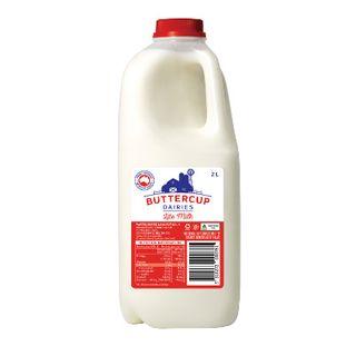 Milk Fresh Lite 6X2Lt Ctn Buttercup