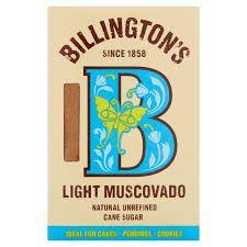 SUGAR BILLINGTON LIGHT MUSCOVADO 500G