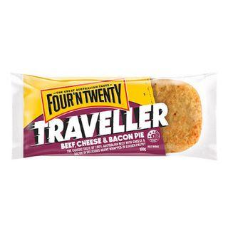 Pie Traveller Beef Bacon Cheese 160Gx24 Four N Twenty