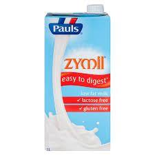 Zymil Low Fat Lactose Free Milk 1Lt Uht