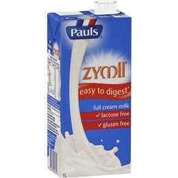 Zymil Lactose Free Full Cream Milk 1Lt Uht